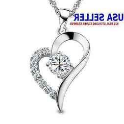 You Are the Only One in My Heart Sterling Silver Pendant Nec