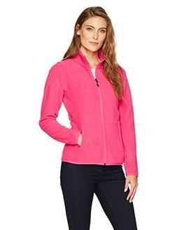 Amazon Essentials Womens Full-Zip Polar Fleece Jacket, Dark