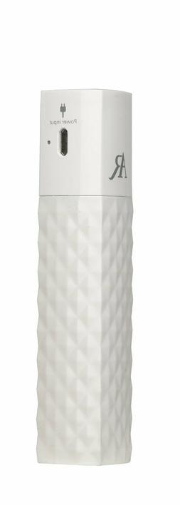 AR for Her ZIPSTICK Rechargeable Power Bank - Quilted White